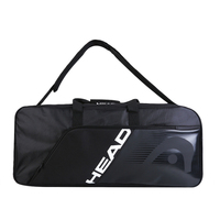 HEAD Badminton Bag Portable Single Shoulder Tennis Bags For Men Women Squash Racket Multi functional Outdoor Sports Accessories