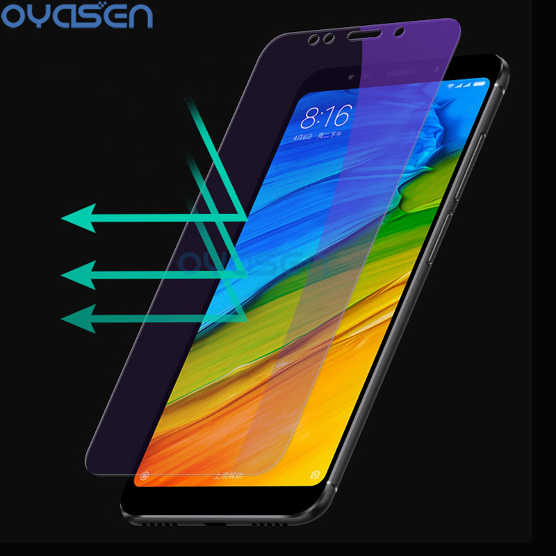 Anti Blue Light Screen Protector For Xiaomi Redmi 5 Plus Note 4 4X 5 5A Prime Pro Mi A1  ...