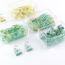 TUTU paper clip binder clip push pin Office Supplies Mint Green Desk Organizers and Accessories H0253