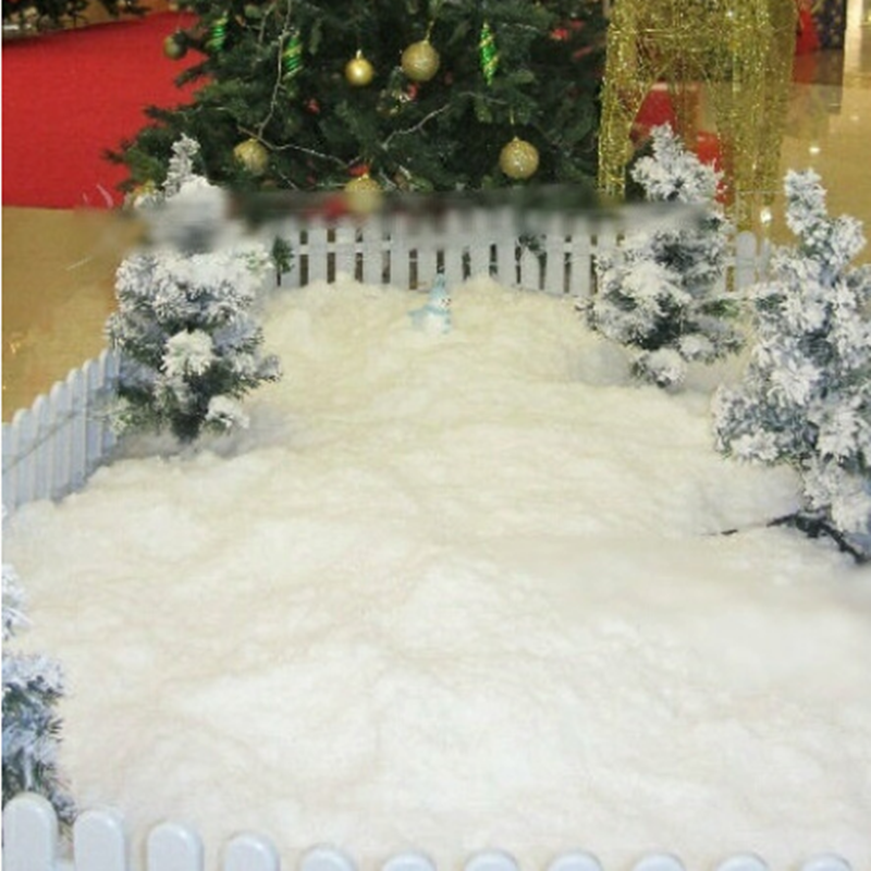 Us 0 3 5 Pack Artificial Snowflakes Fake Magic Instant Snow Festival Party Decorations For Christmas Wedding Artificial Snow Child Play In
