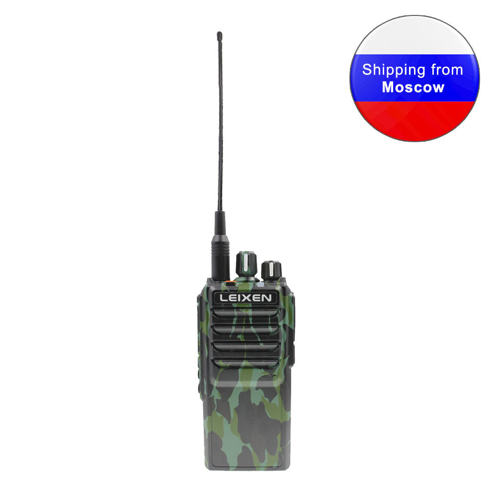 Long distance JANCORE Two way Radio LEIXEN NOTE High power 25W camouflage UHF 400 480MHz 4000mAh