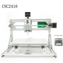 CNC 2418 GRBL control Diy CNC machine,working area 24x18x4.5cm,3 Axis Pcb Pvc Milling machine,Wood Router,Carving Engraver,v2.5(China (Mainland))