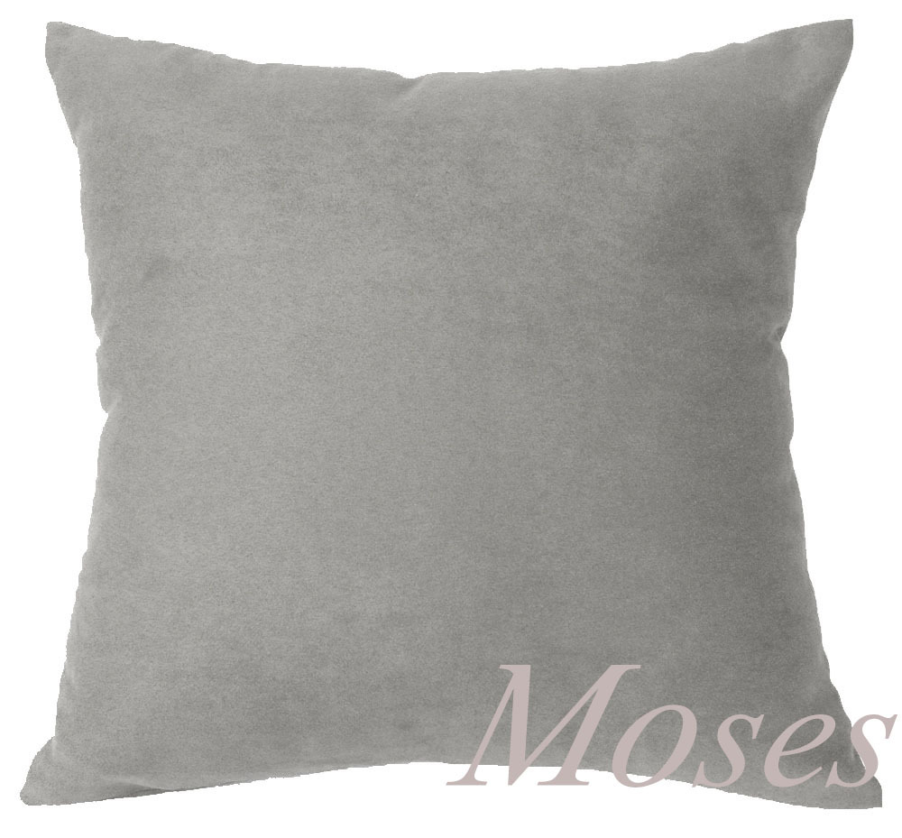 "Pack of 4 40 x 40 cm Plain Black Suede Fabric Cushion Cover Shop 16/"" x 16"