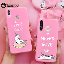 TOMKAS Unicorn Cute Case For Huawei P30 Lite Cases On Honor 9 Lite 8X Back Cover For Huawei P20 Lite P Smart 2019 Silicone Case(China)
