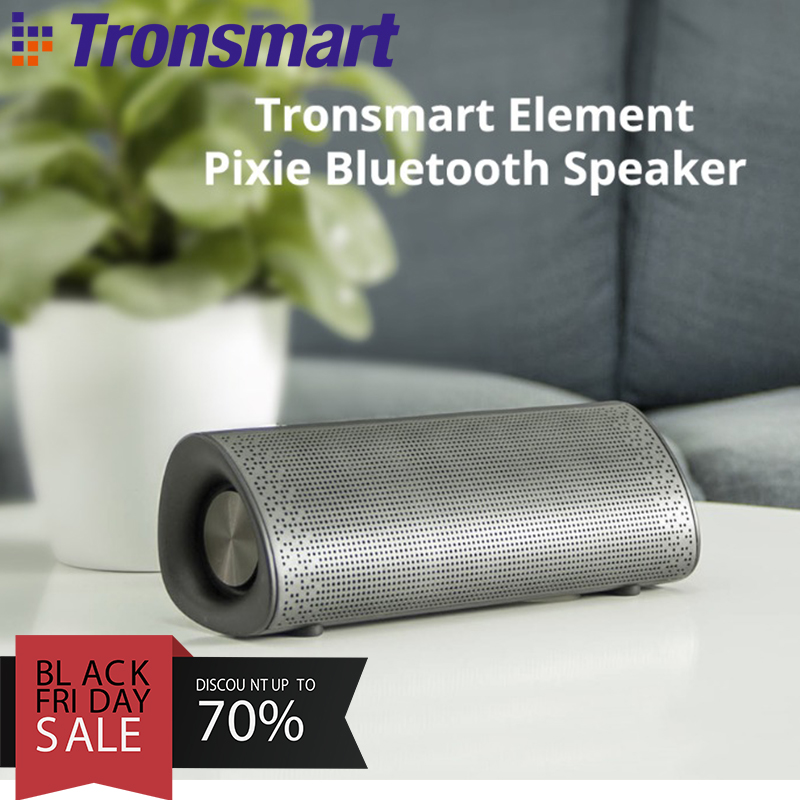 2 coupon Tronsmart Element Pixie Bluetooth 20W Wireless Speaker TWS Soundbar Portable Speaker Subwoofer Speakers