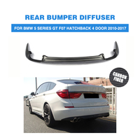 Carbon Fiber Rear Bumper Lip Diffuser for BMW 5 Series GT F07 Hatchback 4 Door 2010 2017 Car Styling