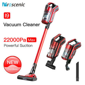 Proscenic I9 Cordless Vacuum Cleaner Stick and Handheld Vacuum with 22Kpa Powerful Suction & Wall-Mount, 45-Minute Lasting Time - DISCOUNT ITEM  38% OFF All Category