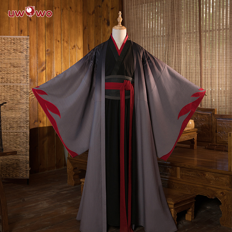 Image 2 - UWOWO Wei Wuxian The Yiling Patriarch Cosplay Grandmaster of Demonic Cultivation Costume Wei Wuxian Mo Dao Zu Shi Costume Men-in Anime Costumes from Novelty & Special Use
