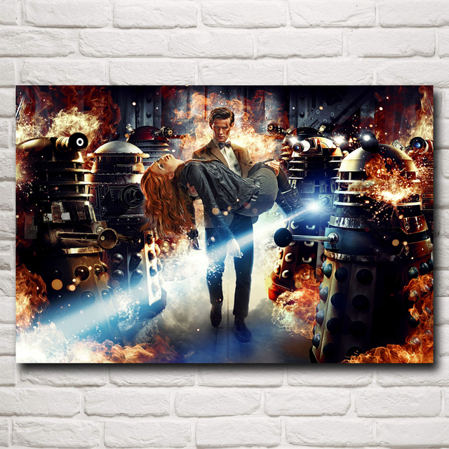 Doctor Who Television Series Art Silk Printing Poster Bedroom Decorative Picture 12x18 16X24 20x30 24x36 Inches Free Shipping