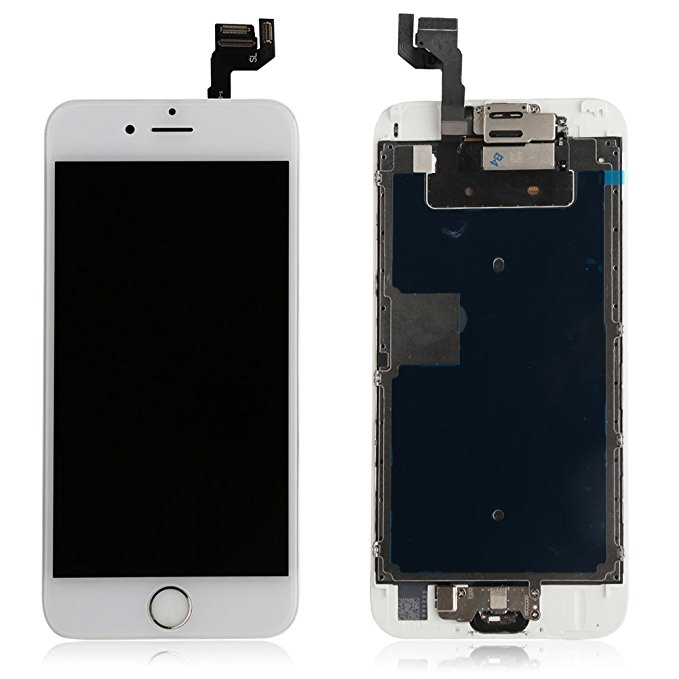 Screen Replacement for iphone 6 6s 6 plus 6s plus LCD Display 3D Touch Digitizer Frame Assembly with Home Button ...