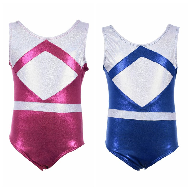 New Girls Gymnastics Suits High Quality Sleeveless Color Matching Body Suit Ballet Gymnastics Dance Dance Practice Clothes Strengthening Sinews And Bones Gymnastics Sports & Entertainment