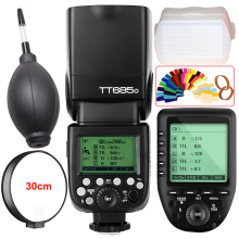 Godox TT685O 2.4G HSS 1/8000s i-TTL GN60 Wireless Speedlite Flash+ XPro-O TTL Wireless Transmitter Trigger for Olympus/Panasonic