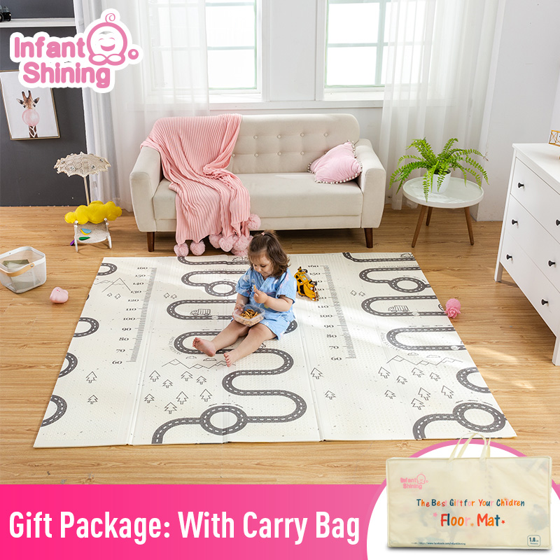 Baby Shining Kids Play Game Mats Rugs Mat Cotton baby play mats 180 200cm Blanket Floor