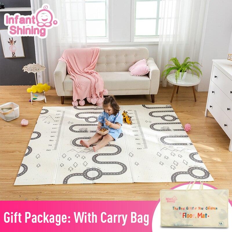 Bébé brillant enfants jouer jeu tapis tapis tapis coton bébé tapis de jeu 180*200cm couverture tapis de sol pour enfants chambre bébé cadeaux