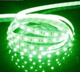 1 м 60 лампы Водонепроницаемый <font><b>LED</b></font> пустышка свет пояса 12 В <font><b>3825</b></font> многофункциональный свет бар-зеленый