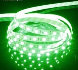 1 Meter 60 Bulbs Waterproof <font><b>LED</b></font> Bare Board Light Belt 12V <font><b>3825</b></font> Multi-functional Light Bar &#8211; Green
