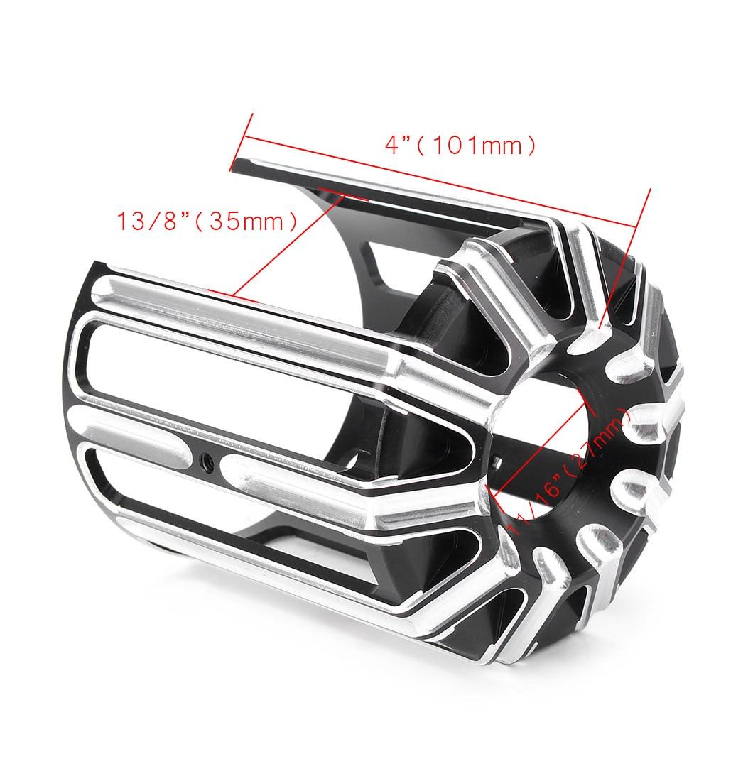 Крышка масляного фильтра для Harley Davidson CNC алюминиевый сплав аксессуары для мотоциклов черный хром