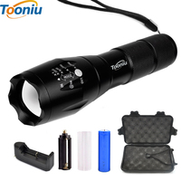 Big Promotion Ultra Bright CREE X ML T6 LED Flashlight 5 Modes 4000 Lumens Zoomable LED