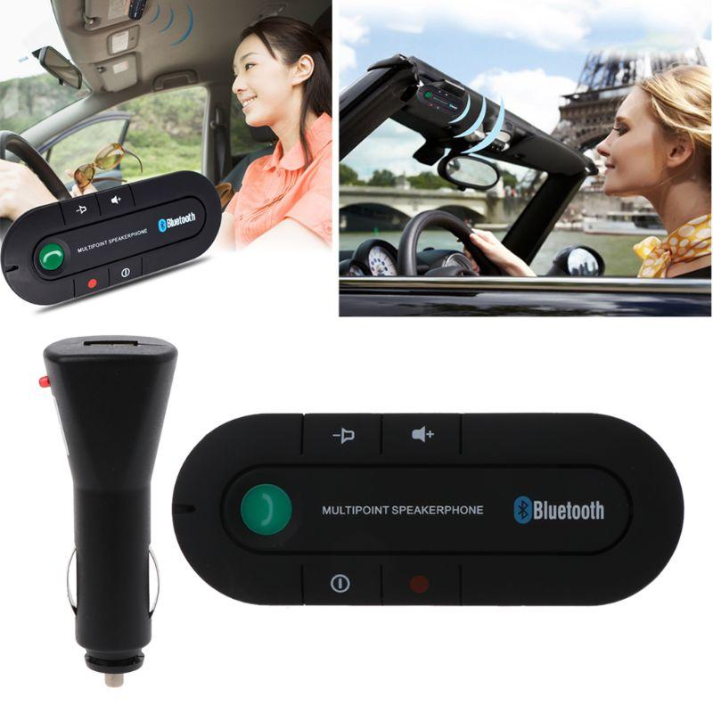 Funkadapter Auto Bluetooth 4,1 Version Hände-freies Telefon Bluetooth Receiver Musik Player Sonnenblende Edr Carless Kit Aux Bluetooth Vertrieb Von QualitäTssicherung