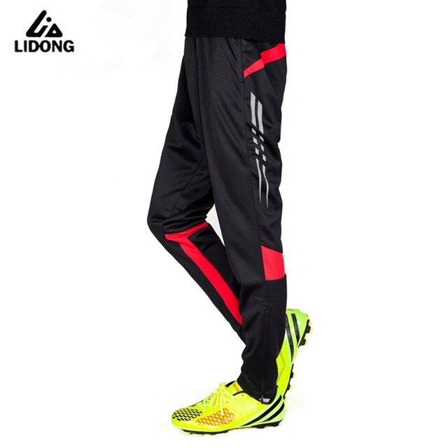 Nuevos hombres Pantalones de correr fútbol Fútbol entrenamiento jogging  activo Pantalones deportes Leggings pista gimnasio ropa d7f2bdb41f9f3