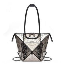 Lisse Fashion Brand Cool New Arrvial Women HandBag Diamond Lattice Chains Lady Shoulder Bag Womens casual shopping bag