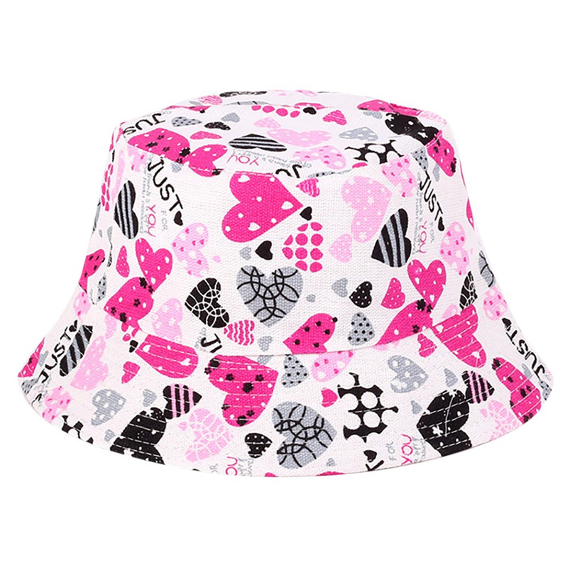 Men Women Bucket Hat Flower Print Cap 2018 Summer Hot Sale Flat Hat Fishing Boonie Bush Cap Outdoor Sunhat Wholesale #FM11 (8)
