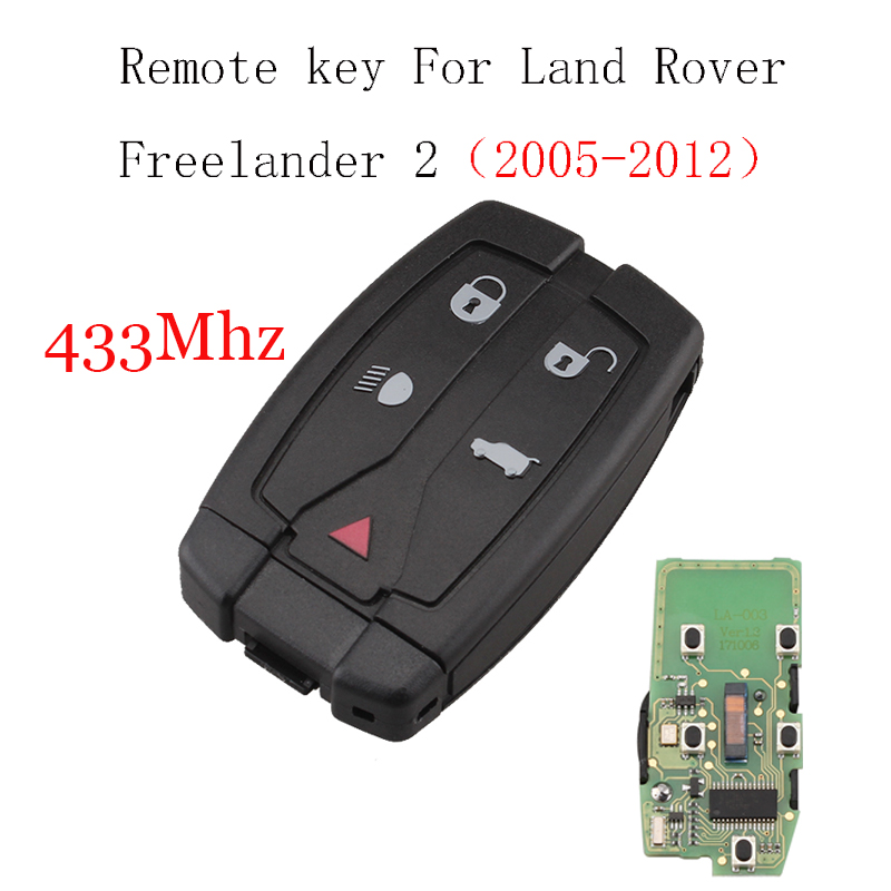 433/434Mhz Remote Control key For Land Rover For Range Rover Freelander 2 LR2 Sport 2008-2012 Smart Original Remote Key 433/434Mhz Remote Control key For Land Rover For Range Rover Freelander 2 LR2 Sport 2008-2012 Smart Original Remote Key