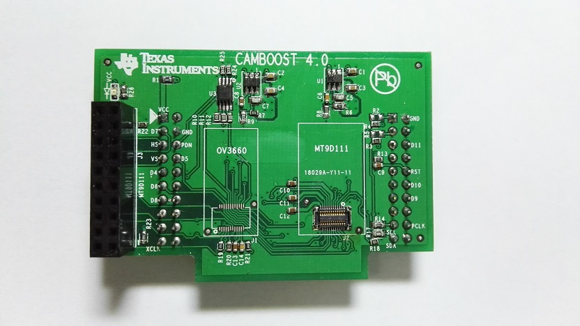 CAMBOOST TI Source File 4 Board Wi Fi CC3200 Camera BoosterPack