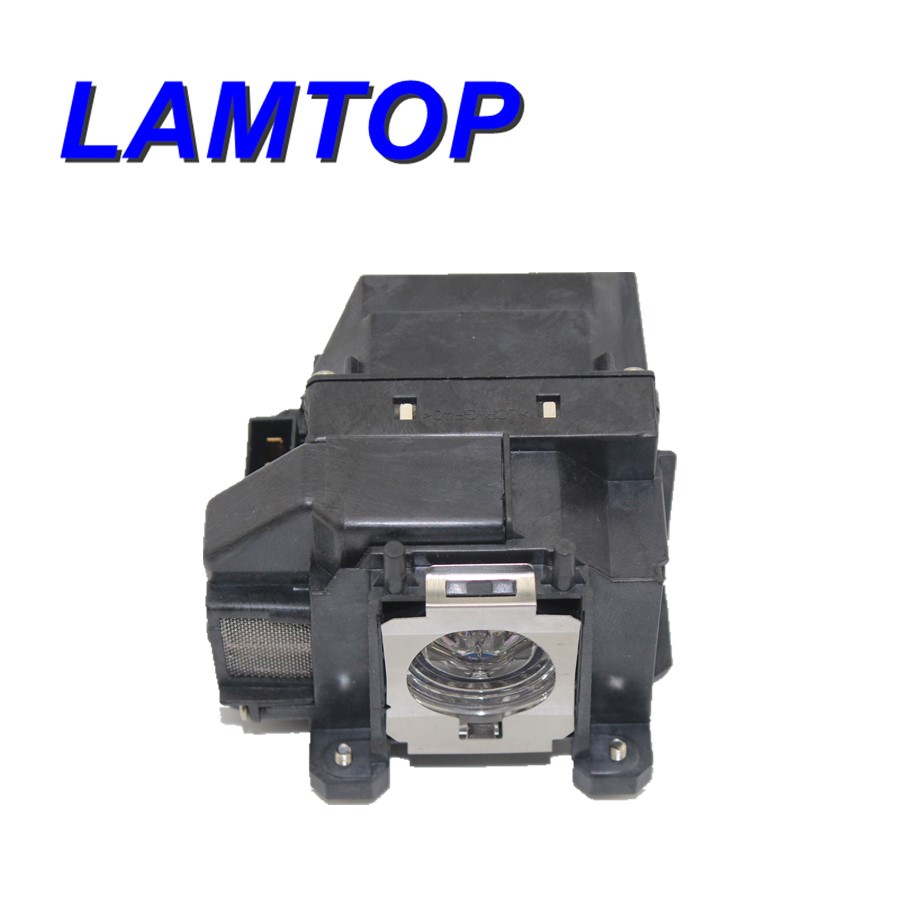 LAMTOP projector lamp with housing/cage for EB-C30X aliexpress hot sell elplp76 v13h010l76 projector lamp with housing eb g6350 eb g6450wu eb g6550wu eb g6650wu eb g6750 etc