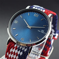 2017 New Arrivals Perlon Nylon Strap Lover Watch 40MM Men And Women Fashion Casual Watch Gift Quartz-Watch Montre Amant