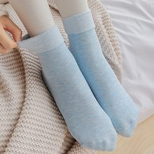 Christmas Gifts Female Solid Seamless Velvet Boots Sleeping Floor Socks Winter Thermal Wool Cashmere Thicken Warm Snow Sock(China)