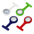 1Pcs Mini Portable Silicone Gel Doctor Nurses Brooch Pin Pocket Fob Tunic Watch Multiple Colors Worldwide Store