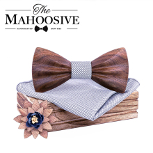 Деревянный галстук-бабочка camisas mujer цветочный галстук-бабочка modis gravata галстуки для мужчин галстук homme noeud papillon chemise femme