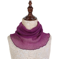 Womens Faux Silk Print Thin Scarf Head Collar Soft Hedging Winter Elegant Casual