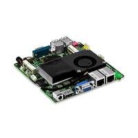 I3 3217U Dual core mini itx x86 embedded fan motherboard with dual Gigabit LAN ports, 1*RS232, 4*USB3.0,1*VGA,1*HD Free shipping