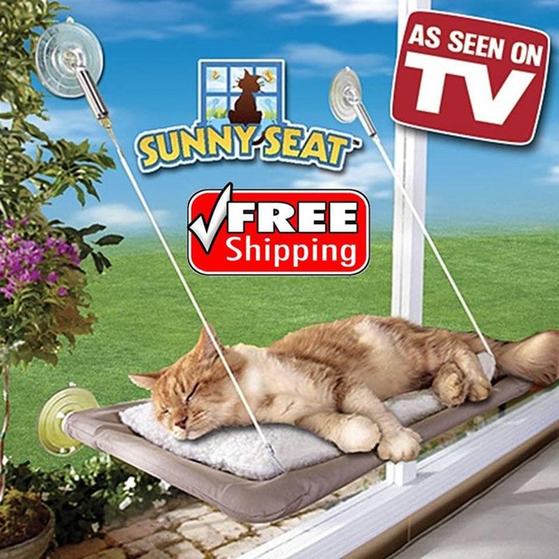 Produkt TV TV Dritare me diell Seat e montuar Makinë për shtratin e maceve Mbulesa e larë me kapak të rehatshëm Hametë të rehatshme për batanije