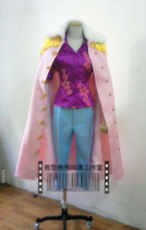 One Piece 2 years Tashigi Cosplay Costume with gloves