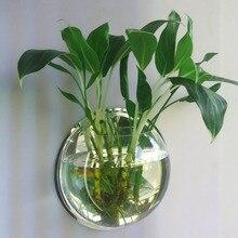 AMW 1 шт. высокое боросиликатное стекло Висячие стеклянные цветочные плантаторы ваза Террариум контейнер домашний сад шар Декор