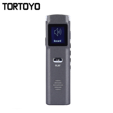 Portable 8GB Digital Voice Recorder Mini Metal One Key Recording Pen Audio Recorder for Study Noise Reduction Music MP3 Player