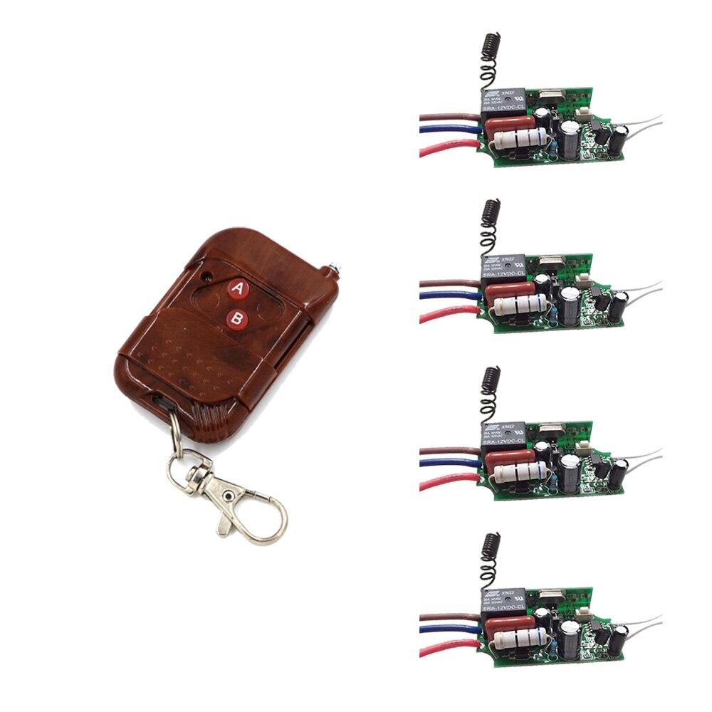 Nuevo Estilo Elegante Casa 1CH AC220V Interruptor de Control Remoto Inalámbrico
