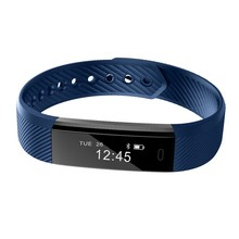 ID115 Smart Bracelet Fitness Tracker Step Counter Activity Monitor pk FitBits ID107