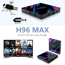 box tv h96 max usb 3.0 RK3318 android smart 9.0 4k HDMI 2.0 Smart TV Box google play Youtube usa unblock