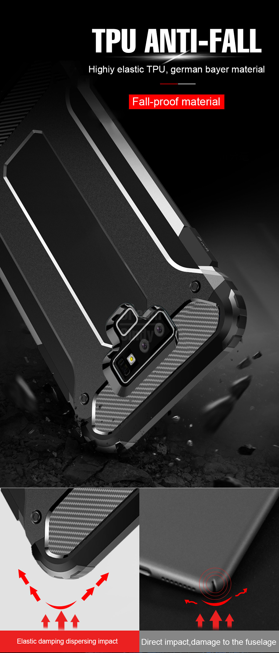 Luxury Armor Shockproof Bumper Case02