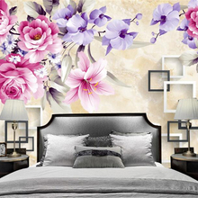 beibehang 2019 new personality papel de parede 3d wallpaper hand-painted high-de