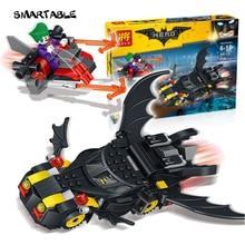Smartable Batman Building Block The Joker's provocation 34113 Figure Bricks toys Compatible legoeds Batman movie gift
