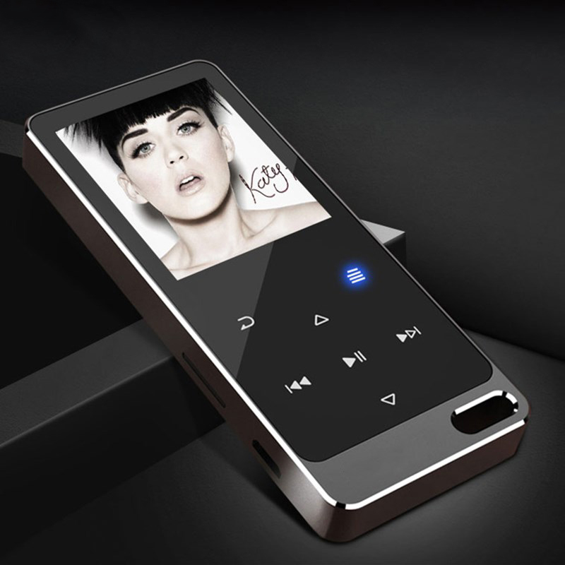 DOITOP HIFI Sound MP3 Music Player 8G Mini Metal Touch Screen Built-in Speaker MP3 Support Recording TF Card FM Video E-book A3 стоимость