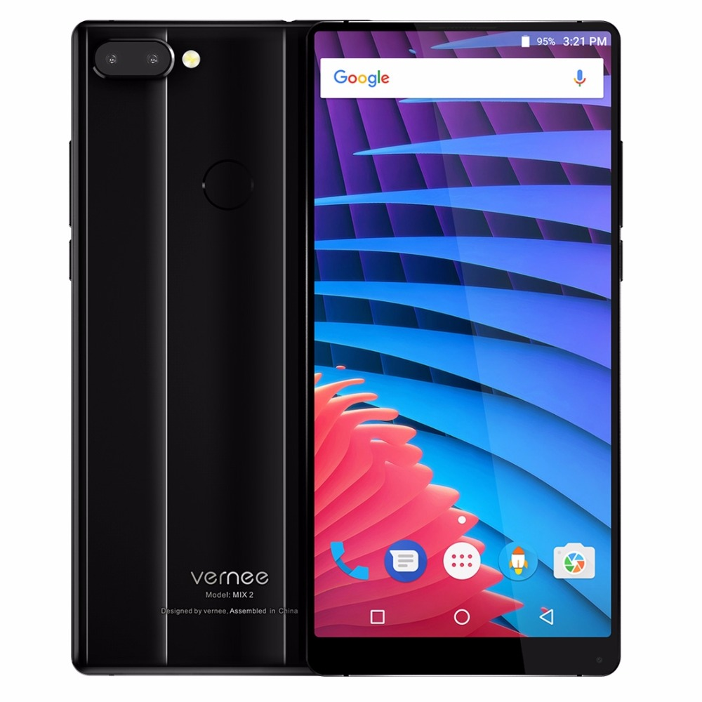 Vernee Mix 2 6GB 64GB Mobile Phone 6 0 Inch 18 9 All Full Screen Android