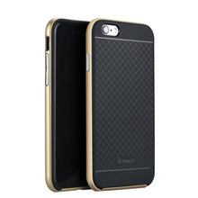 IPAKY For Apple iPhone6 6s Luxury Armor Back Case for iPhone 6 6s 4.7 Phone Accessories Hard Hybrid Shockproof Dual Layer Cover