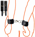 Faux Leather Sex Handcuffs Wrist Restraints adult game toys Slave fetish Sexy Costumes Hand cuffs for erotic couples women men