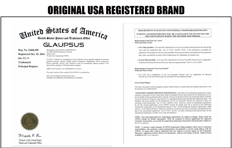 GLAUPSUS REGISTERED